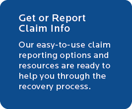 Get or Report Claim Info